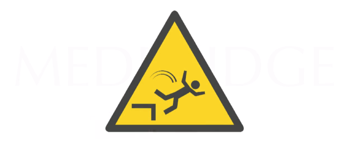 Four Major Risks of Falls in the Older Patients
