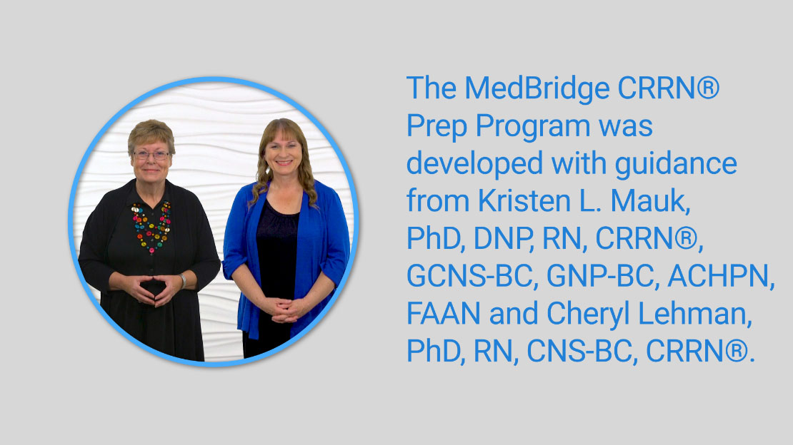 Crrn Prep Program Medbridge